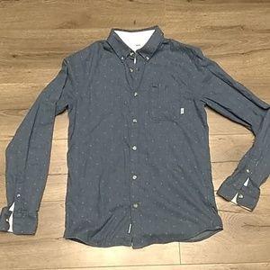 Men's Vans button down shirt